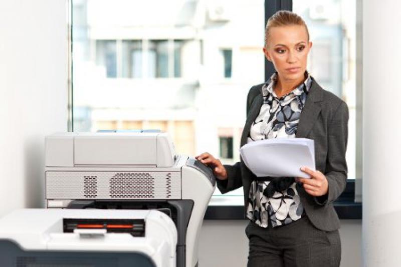 Hin und wieder kann es im Drucker auch zu Papierstau kommen